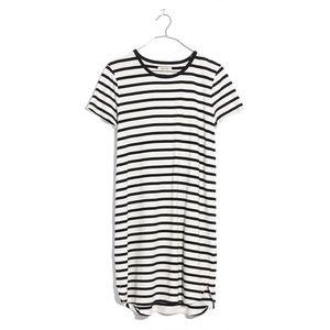 Madewell    Striped Ringer Tee Dress